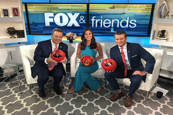 GO BOWLING AND FOX & FRIENDS TEAM UP TO CELEBRATE NATIONAL BOWLING DAY