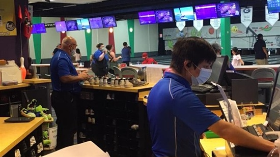 Bowling alleys change operation to meet new safety guidelines