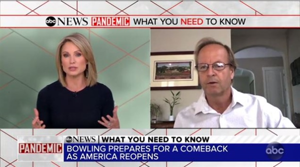 Bowling association head talks new protocols as bowling centers reopen
