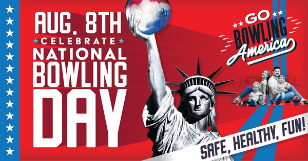 Join us as we celebrate National Bowling Day on August 8th!