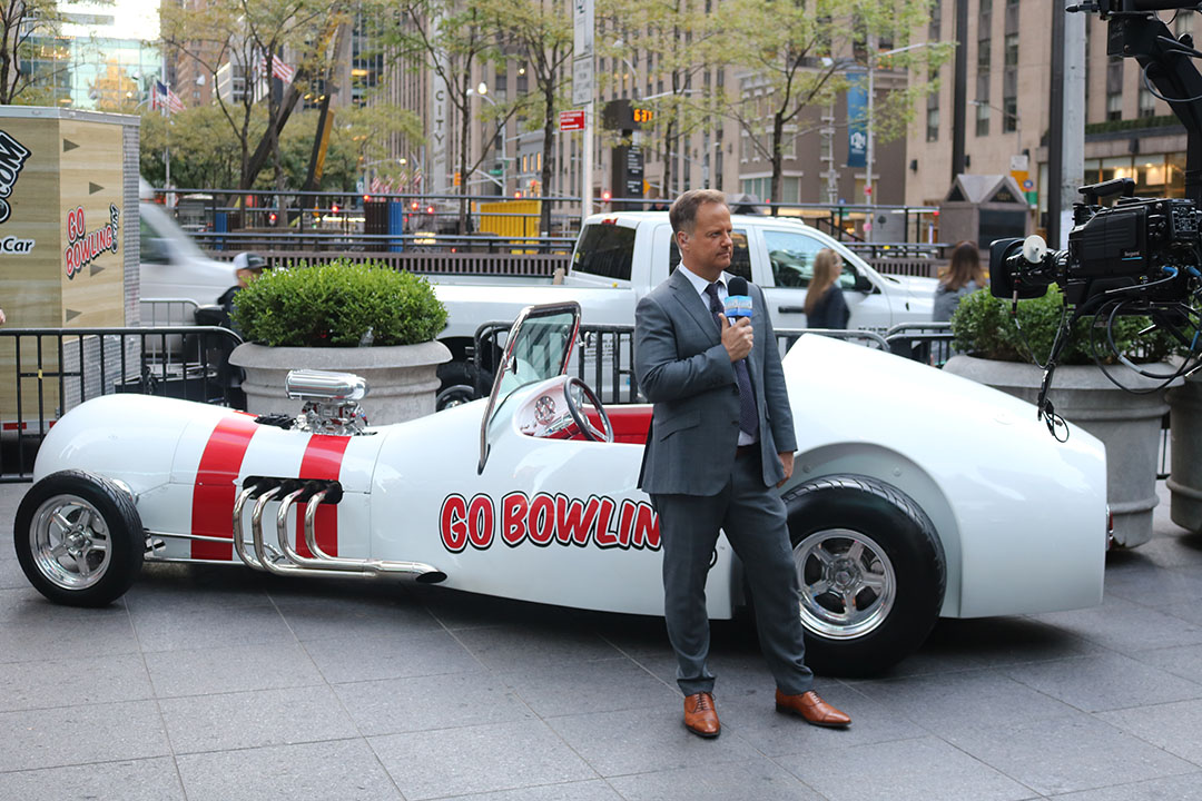 The Pin Car on Fox & Friends
