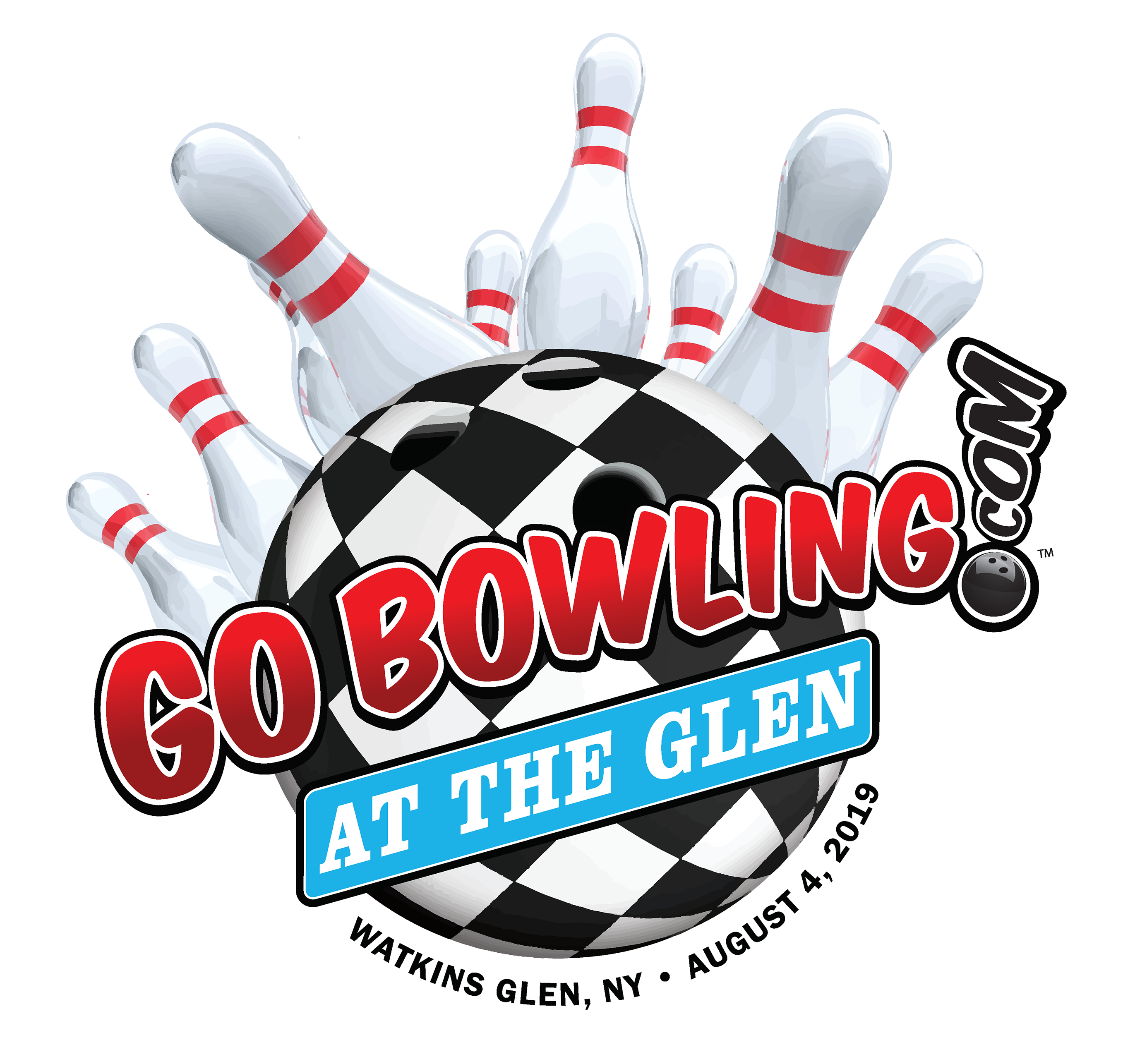 Go Bowling At The Glen Logo