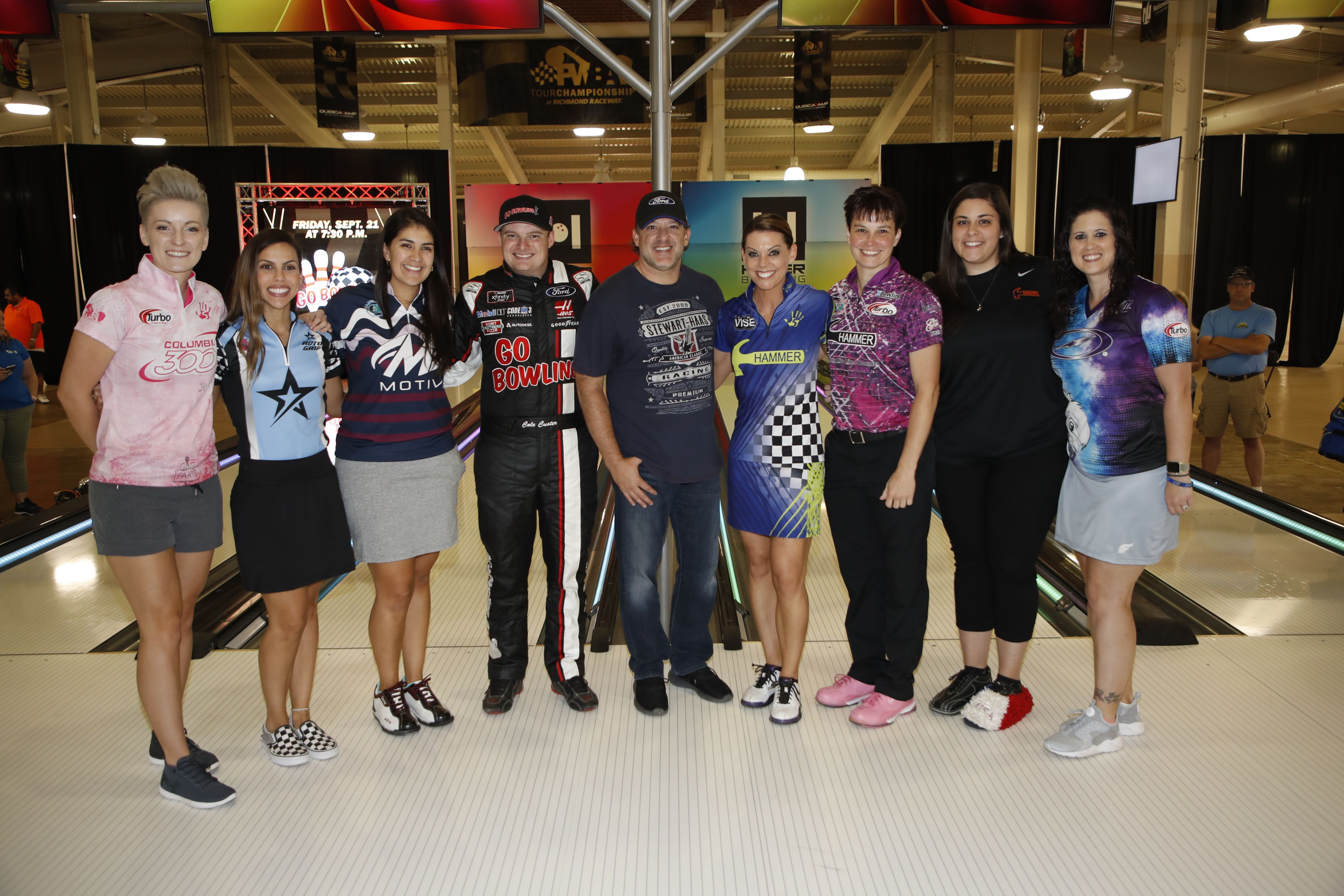Bowlers and Racecar Driver