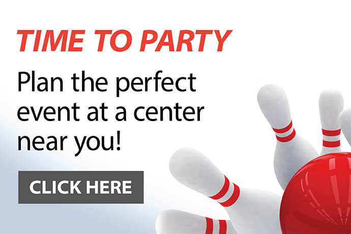 contact a bowling center to plan your next party